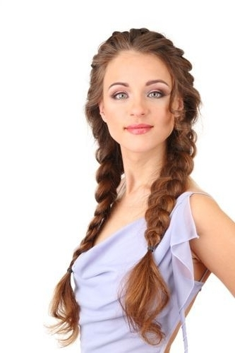 17 Chic Double Braided Hairstyles You Will Love | Pinterest | Hair Pertaining To Double Braided Hairstyles (View 7 of 25)