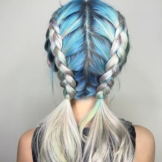 Featured Photo of Double Braided Hairstyles