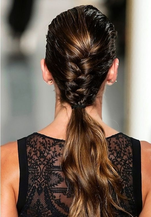 17 Le Fashion Blog 21 Braid Ideas For Long Hair Half French Braided Within Half French Braid Ponytail Hairstyles (View 20 of 25)