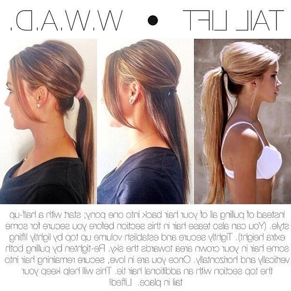 17 Thin Hair Tips, Tricks And Hacks To Get More Volume – Gurl With Ponytail Hairstyles For Fine Hair (View 20 of 25)