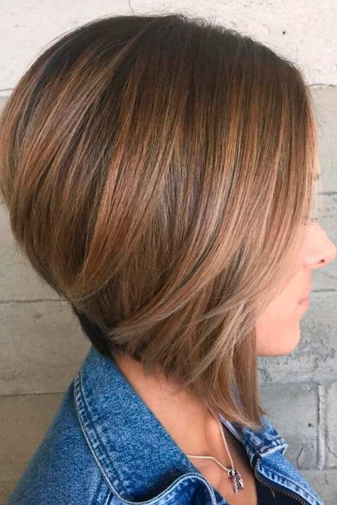 18 Classy And Fun A Line Haircut Ideas – Hairstyles For Any Woman In For Steeply Angled A Line Lob Blonde Hairstyles (View 6 of 25)