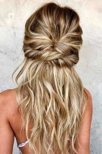 18 Easy Hairstyles For Spring Break | Hairstyle Ideas! | Pinterest Within Romantic Twisted Hairdo Hairstyles (View 2 of 25)