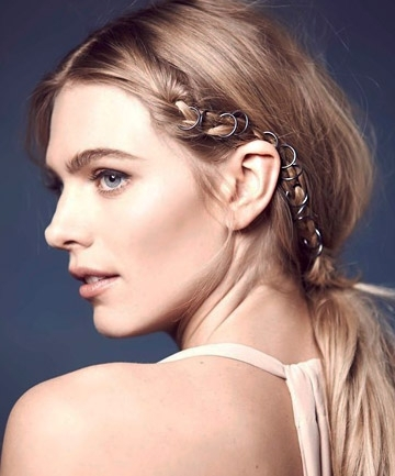 18 Hair Accessories That Work After 30 Intended For Classy Flower Studded Pony Hairstyles (View 3 of 25)