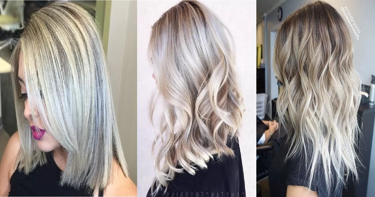 18 Hair ?olor Ideas With White And Platinum Blonde Hair | Hairs (View 17 of 25)