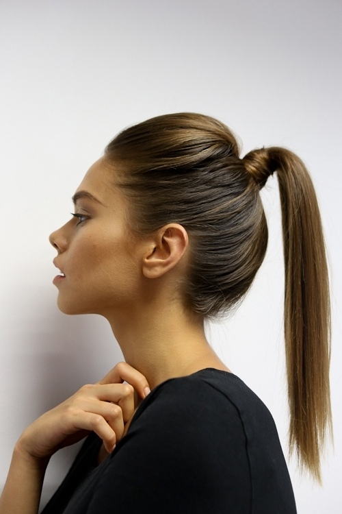 18 High Ponytail Hairstyles You Need To Try For Spring 2017 – Gurl For Futuristic And Flirty Ponytail Hairstyles (View 8 of 25)