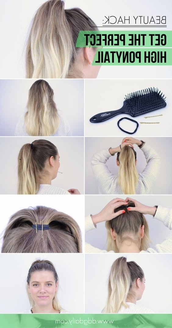 18 High Ponytail Hairstyles You Need To Try For Spring 2017 – Gurl Inside High Voluminous Ponytail Hairstyles (View 23 of 25)