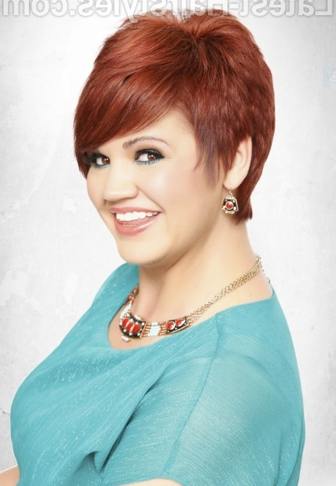 18 Hottest Short Hairstyles For This Season – Pretty Designs In Most Current Ravishing Red Pixie Hairstyles (View 13 of 25)