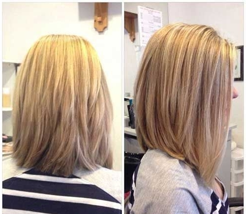 18 Perfect Lob (Long Bob) Hairstyles For 2018 – Easy Long Bob Hairstyles Regarding Steeply Angled A Line Lob Blonde Hairstyles (View 22 of 25)