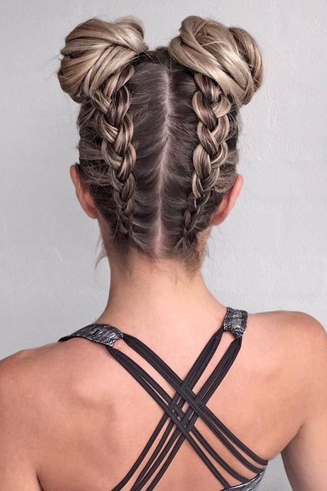 18 Pretty Braided Hairstyles For Any Outfit | Braided Hairstyles Intended For A Layered Array Of Braids Hairstyles (View 15 of 25)