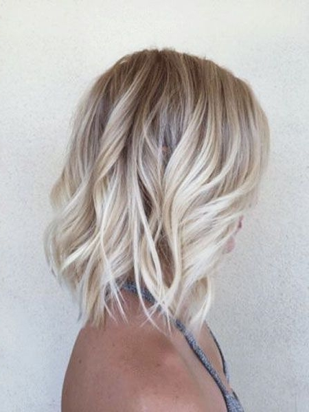 Featured Photo of Shoulder Length Ombre Blonde Hairstyles