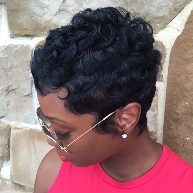 19 Cute Wavy & Curly Pixie Cuts We Love – Pixie Haircuts For Short With Newest Short Black Pixie Hairstyles For Curly Hair (View 4 of 25)