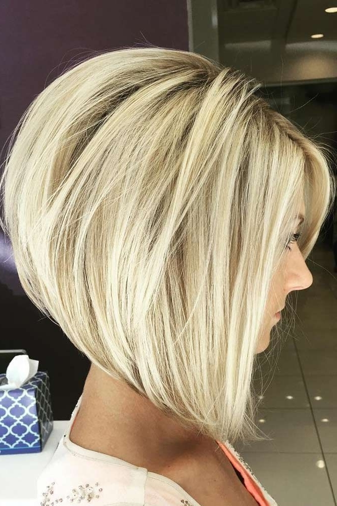 19 Perfect Short Hairstyles For Fine Hair | Health & Beauty With Fresh And Flirty Layered Blonde Hairstyles (View 3 of 25)
