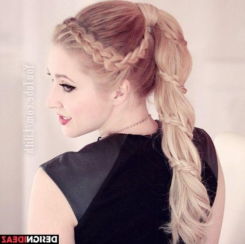19 Pretty French Pigtail Braid Suggestions (View 4 of 25)