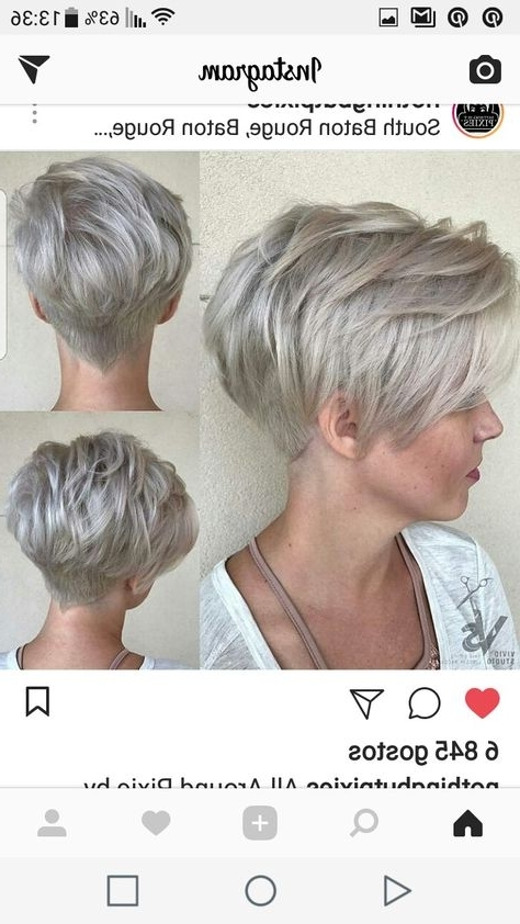 19: Stacked Pixie With V Cut Inside Most Current Stacked Pixie Hairstyles With V Cut Nape (View 21 of 25)