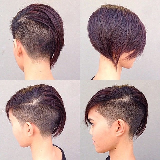 19 Undercut Pixie Cuts For Badass Women 2017 | Hairstyle Guru – Part Intended For Most Current Uneven Undercut Pixie Hairstyles (View 6 of 25)
