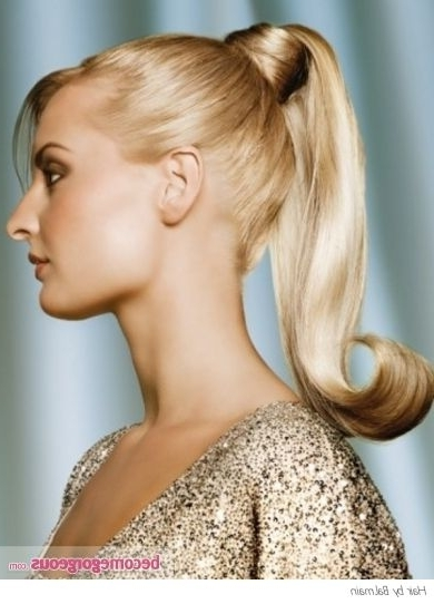 1950S+Ponytail+Hairstyles | Pictures : Prom And Homecoming For Glam Ponytail Hairstyles (View 1 of 25)