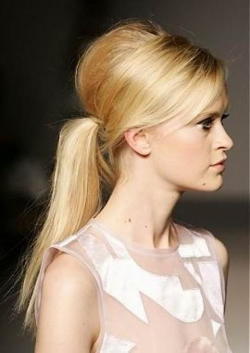 Featured Photo of Stylish Supersized Ponytail Hairstyles