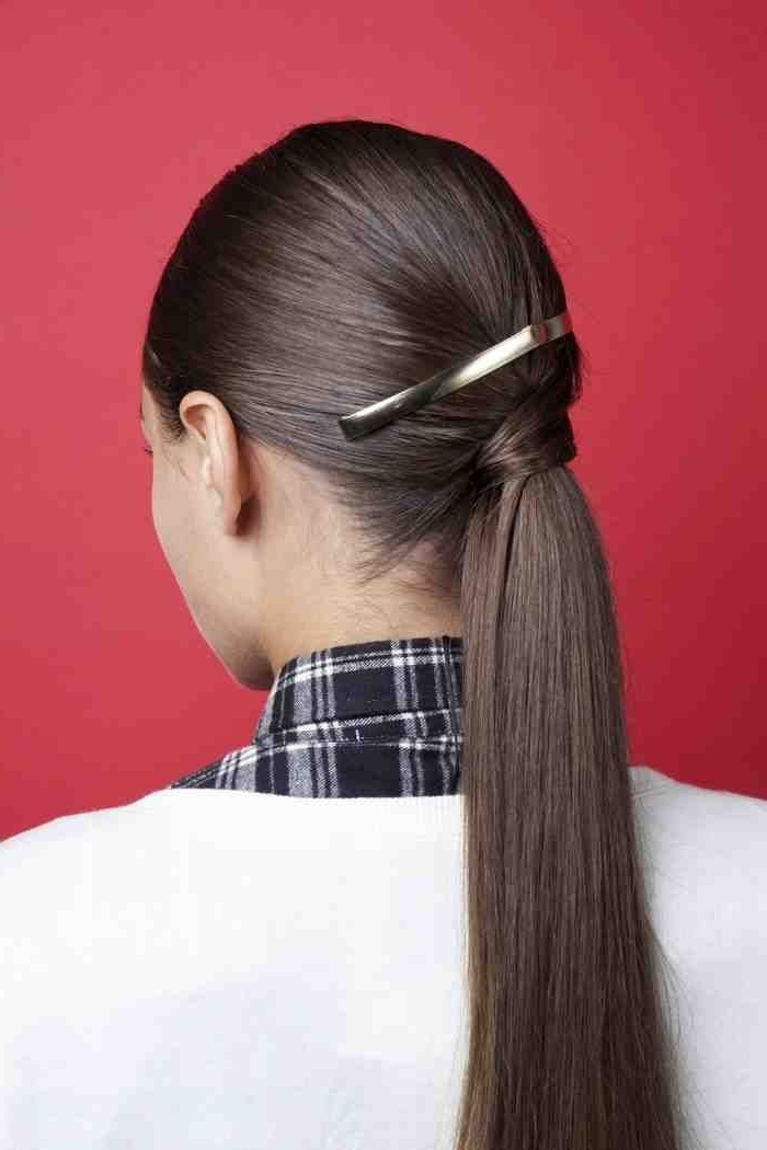 2 Stylish Hairstyles With Ponytails For Every Day #every #hairstyles Within Stylish Supersized Ponytail Hairstyles (View 3 of 25)