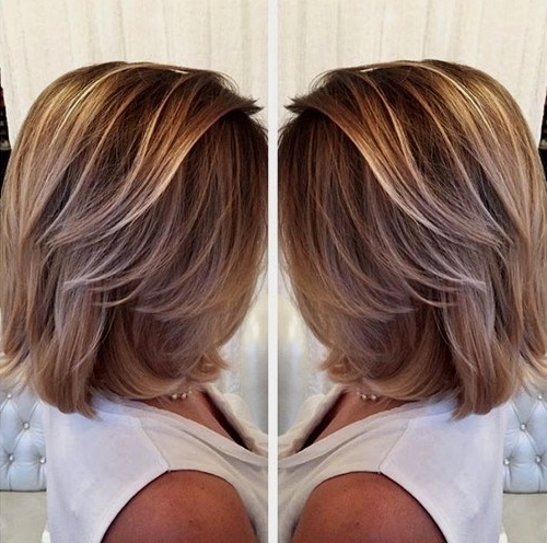 20 Amazing Short Balayage Hair Styles: Stylish Hair Color Ideas 2017 Within Latest Feathered Pixie With Balayage Highlights (View 13 of 25)