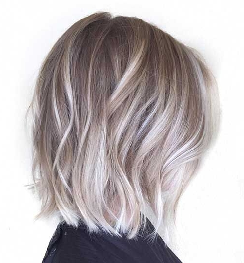 20+ Balayage Bob Hair | Bob Hairstyles 2015 – Short Hairstyles For With Regard To Short Silver Blonde Bob Hairstyles (View 4 of 25)