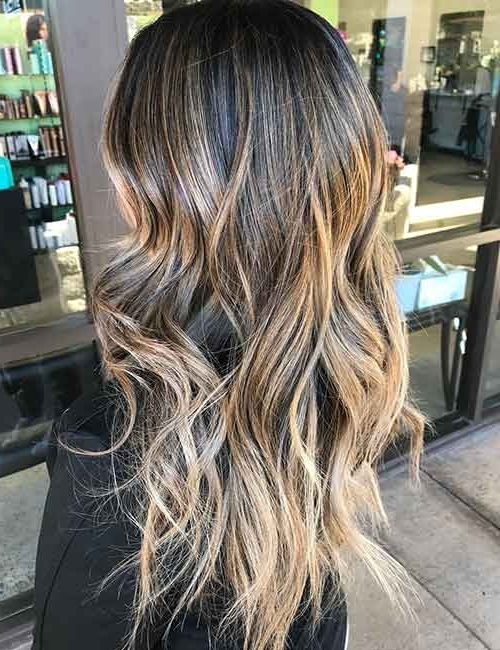 20 Beautiful Blonde Balayage Hair Looks Inside Grown Out Balayage Blonde Hairstyles (View 10 of 25)