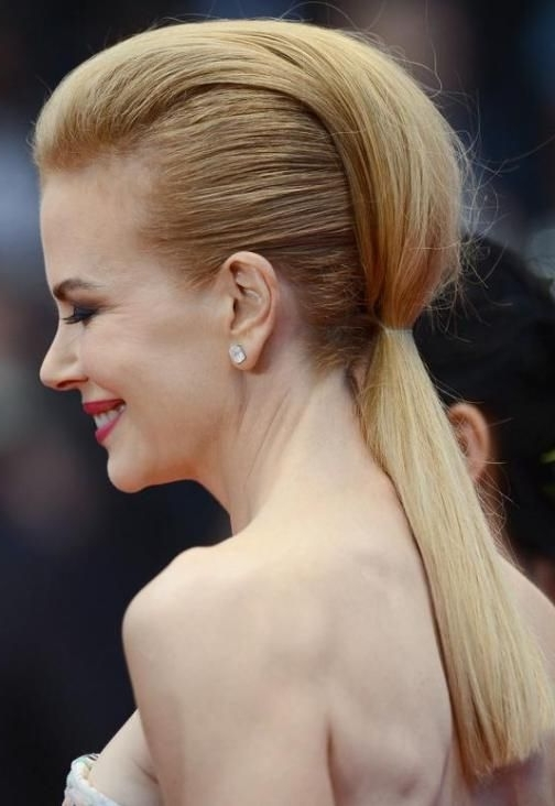 20 Beautiful Blonde Hairstyles To Play Around With | I Run With For Simple Blonde Pony Hairstyles With A Bouffant (View 3 of 25)
