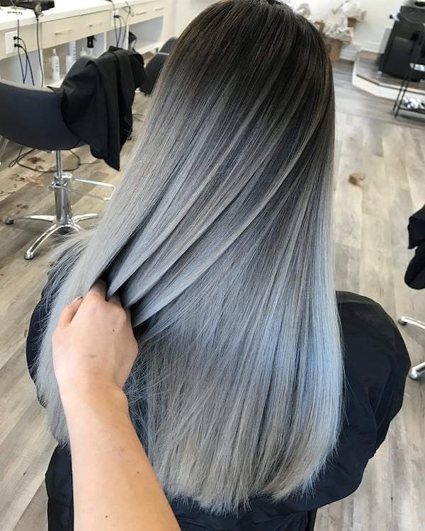 20 Best Balayage Hairstyles For Straight Hair For 2019 – Most Wanted Pertaining To Silver Blonde Straight Hairstyles (View 17 of 25)