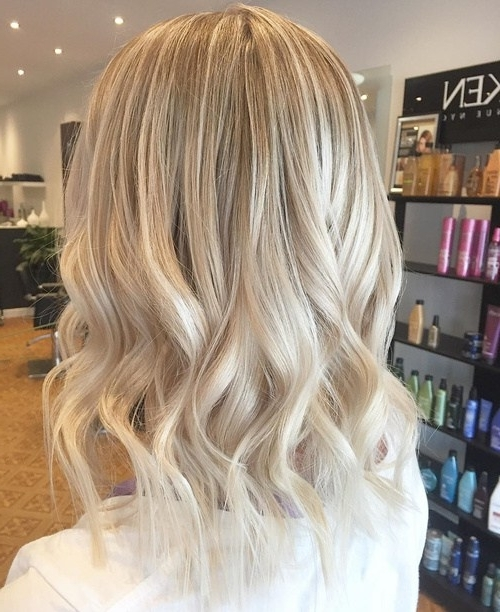 20 Best Hair Colors For Winter 2018: Hottest Hair Color Ideas In Cream Colored Bob Blonde Hairstyles (View 23 of 25)