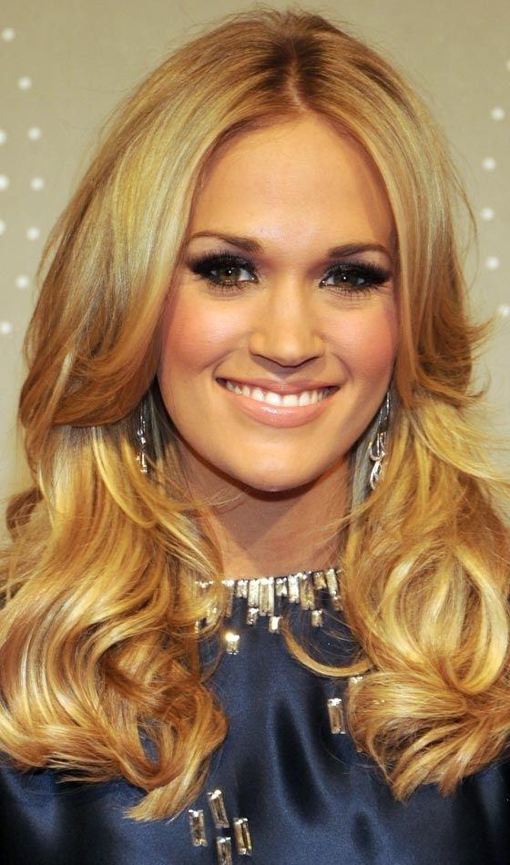 20 Best Hairstyles For Oblong Face Shape | Style | Pinterest In Loosely Coiled Tortoiseshell Blonde Hairstyles (View 12 of 25)