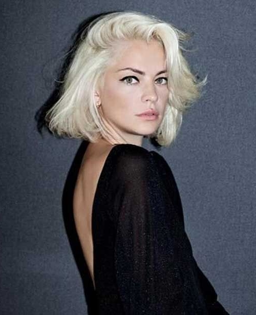 20 Best Short Bleached Blonde Hair | Blond | Pinterest | Blondes With Most Popular Bleach Blonde Pixie Hairstyles (View 25 of 25)