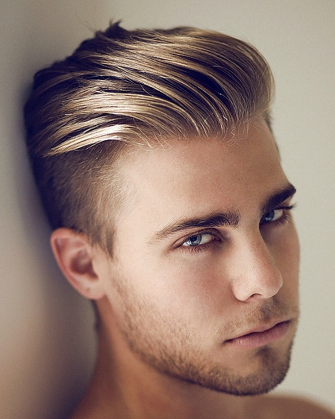 20 Blonde Hairstyles For Men To Look Awesome – Haircuts & Hairstyles Regarding Long Top Undercut Blonde Hairstyles (View 10 of 25)