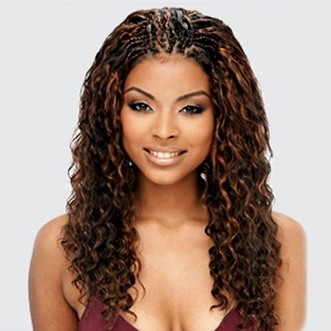 20 Charming Braided Hairstyles For Black Women | My Style In Wavy And Braided Hairstyles (View 7 of 25)