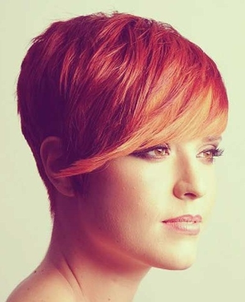 20 Chic Pixie Haircuts For Short Hair – Popular Haircuts Inside Recent Angled Pixie Bob Hairstyles With Layers (View 15 of 25)