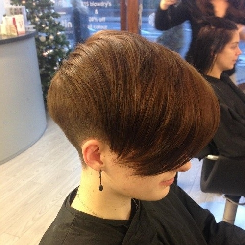 20 Chic Wedge Hairstyle Designs You Must Try: Short Haircut For In Most Up To Date Pixie Wedge Hairstyles (View 3 of 25)
