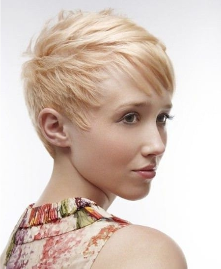 20 Choppy Pixie Cuts Intended For Most Recent Choppy Pixie Fade Hairstyles (View 2 of 25)