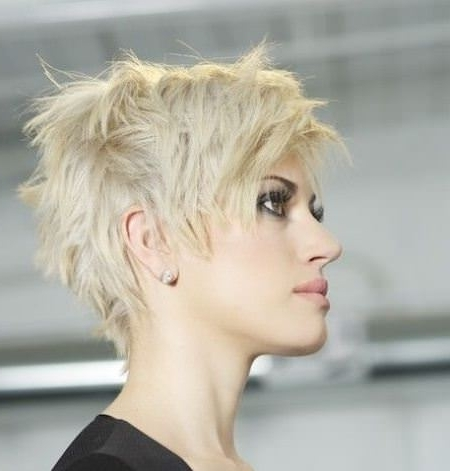 20 Choppy Pixie Cuts Within Recent Choppy Pixie Fade Hairstyles (View 18 of 25)