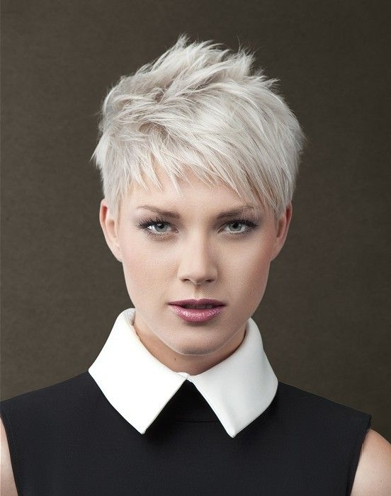 20 Creatively Choppy Hairstyles Are Worth Copying | Haircuts Inside Latest Imperfect Pixie Hairstyles (View 3 of 25)