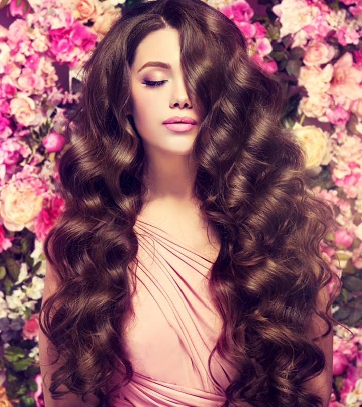 20 Cute Hairstyles For Long Hair Regarding Sleek And Chic Ringlet Ponytail Hairstyles (View 17 of 25)