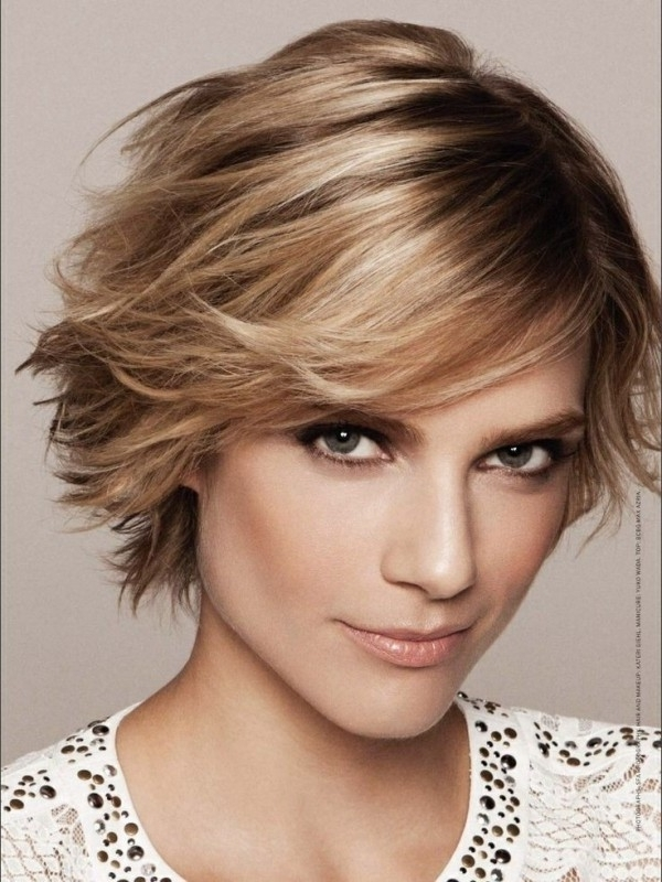 20 Easy To Style Short Layered Hairstyles – The Xerxes Regarding Newest Brunette Pixie Hairstyles With Feathered Layers (View 21 of 25)