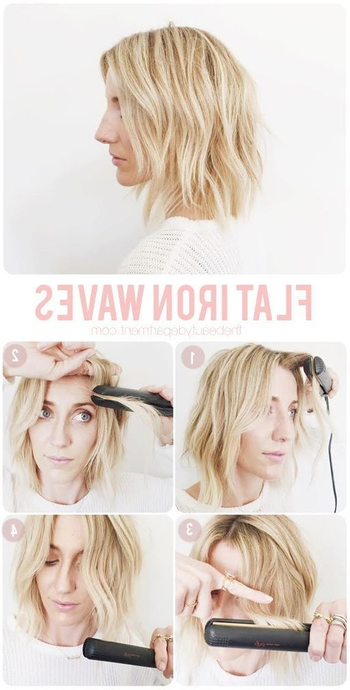 20 Easy Wavy Hair Tutorials For The Perfect Textured Look | Hair Inside Voluminous And Carefree Loose Look Blonde Hairstyles (View 8 of 25)