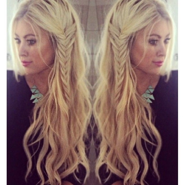 20 Effortlessly Stylish Long Hairstyles You Must Love – Pretty Designs With Regard To Wavy Side Fishtail Hairstyles (View 19 of 25)