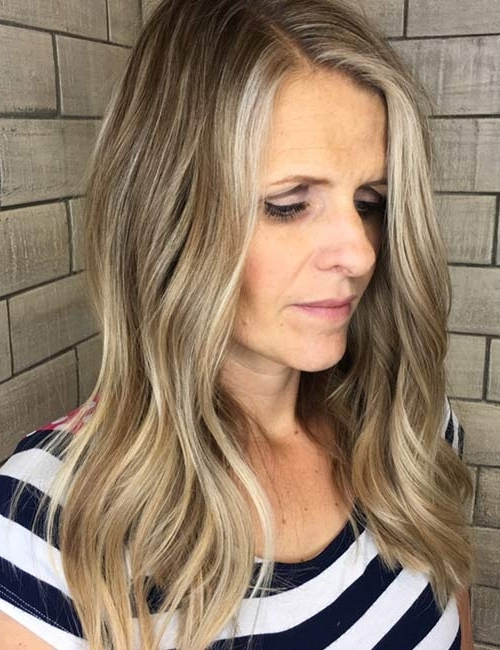 20 Elegant Hairstyles For Older Women With Feathered Ash Blonde Hairstyles (View 3 of 25)