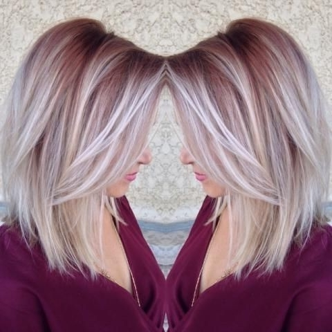 20 Fabulous Summer Hair Color Ideas – Amazing Hair Colours Pertaining To Ice Blonde Lob Hairstyles (View 20 of 25)