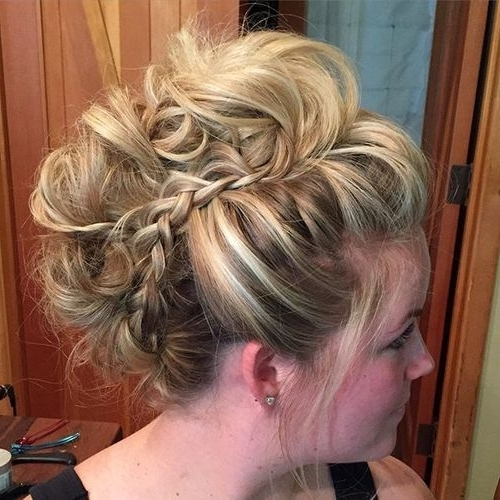 20 Faux Hawk Inspired Hairstyles For Women – Female Fauxhawk Hair Inside Two Tone High Ponytail Hairstyles With A Fauxhawk (View 4 of 25)