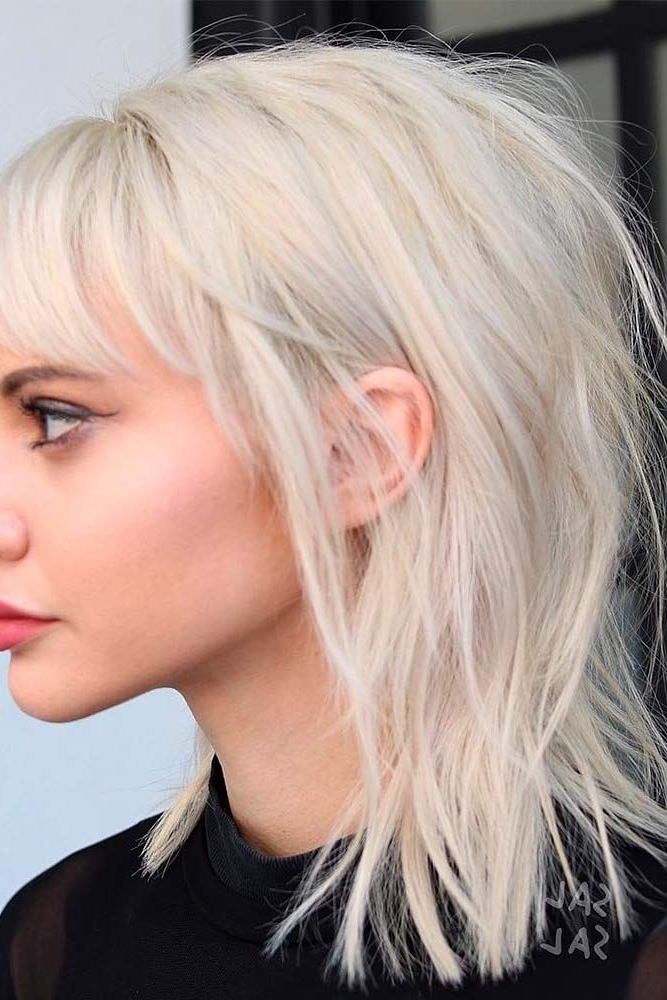 20 Fresh And Fun Ideas For Medium Layered Haircuts | Making Me With Fresh And Flirty Layered Blonde Hairstyles (View 4 of 25)