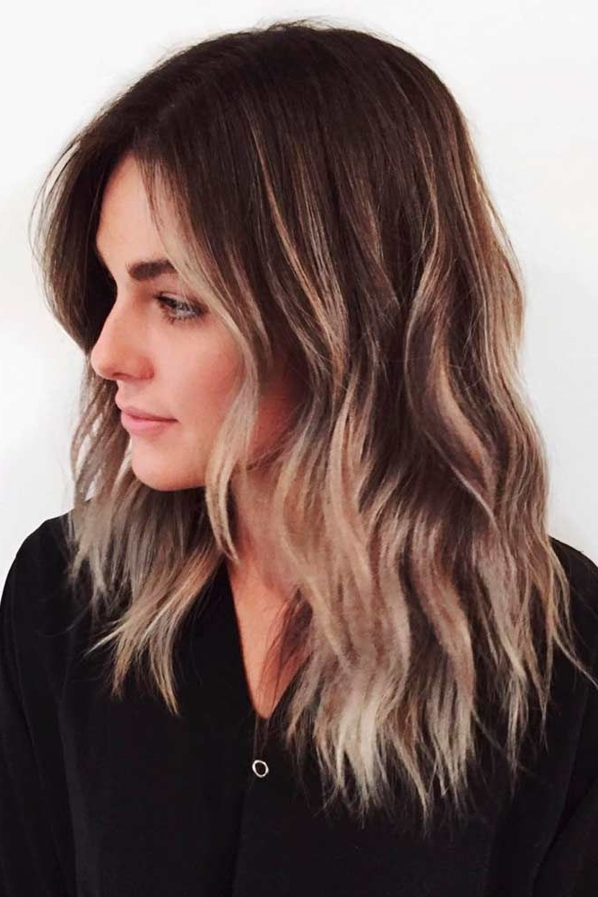 20 Fun, Flirty, Fashionable Layered Haircuts For Medium Hair | Hair With Poofy Pony Hairstyles With Face Framing Strands (View 6 of 25)