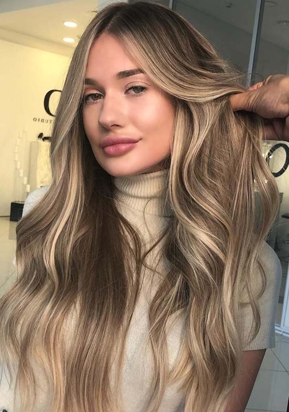 20 Gorgeous Sandy Blonde Hair Long Hairstyles In 2018 | Modeshack With Regard To Sandy Blonde Hairstyles (View 3 of 25)