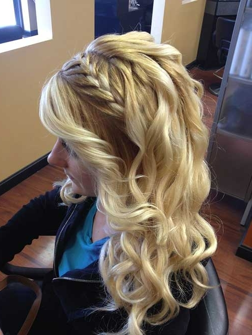 20 Hairstyles For Braided Hair | Hairstyles & Haircuts 2016 – 2017 Throughout Braids With Curls Hairstyles (View 4 of 25)