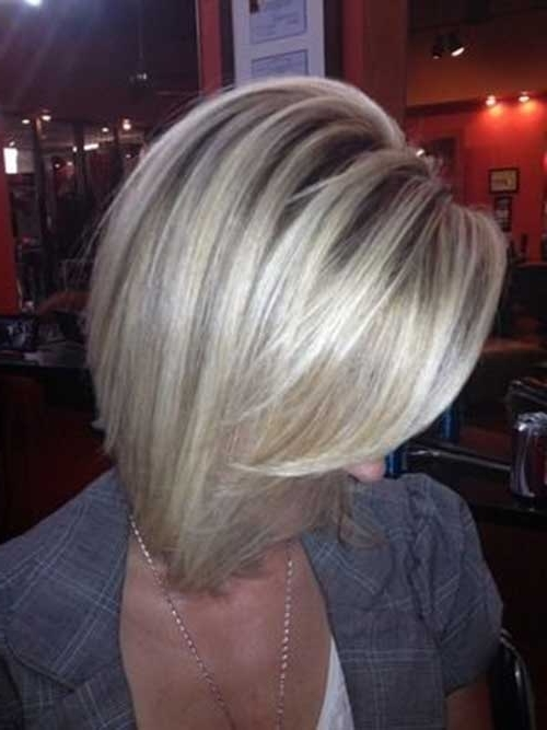 20 Highlighted Bob Hairstyles | Bob Hairstyles 2018 – Short In Long Bob Blonde Hairstyles With Lowlights (View 19 of 25)