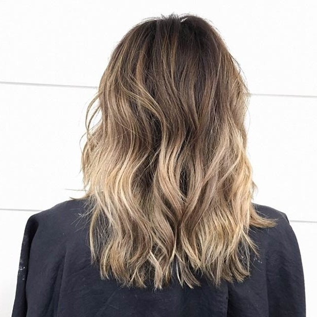 20 Hot Long Bob Haircuts And Hair Color Ideas, Part 1 – Own Look With Regard To Wavy Caramel Blonde Lob Hairstyles (View 24 of 25)